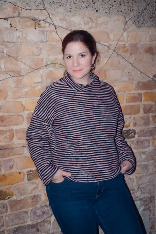 Oversize Damen Shirt MAREN naehen Sara Julez 8 CR