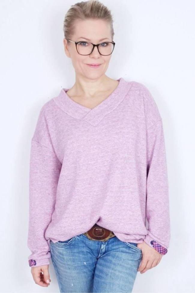 Oversize Pullover KAENA Cover Sara Julez