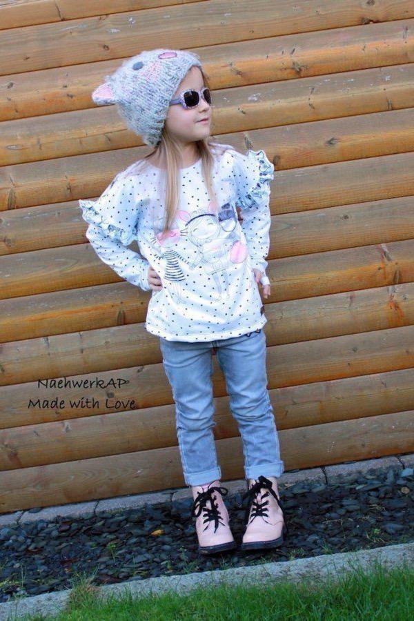 Oversize Shirt MAREN KIDS naehen Sara Julez 2 CR
