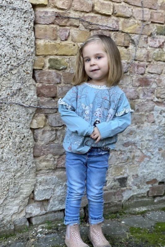 Oversize Shirt MAREN KIDS naehen Sara Julez 6 CR