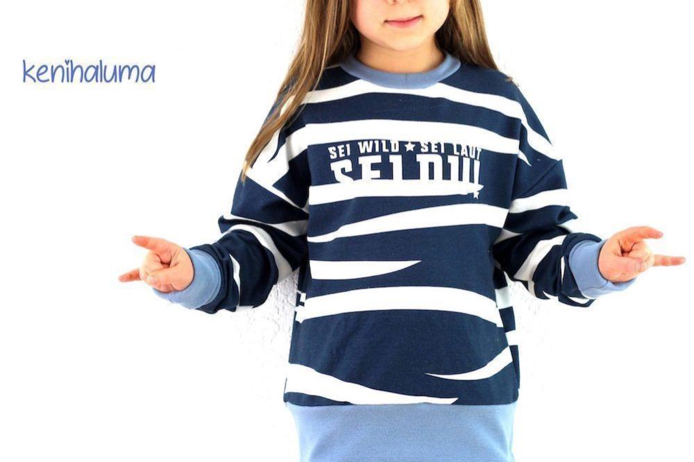 Oversize Shirt MAREN KIDS naehen Sara Julez 8 CR