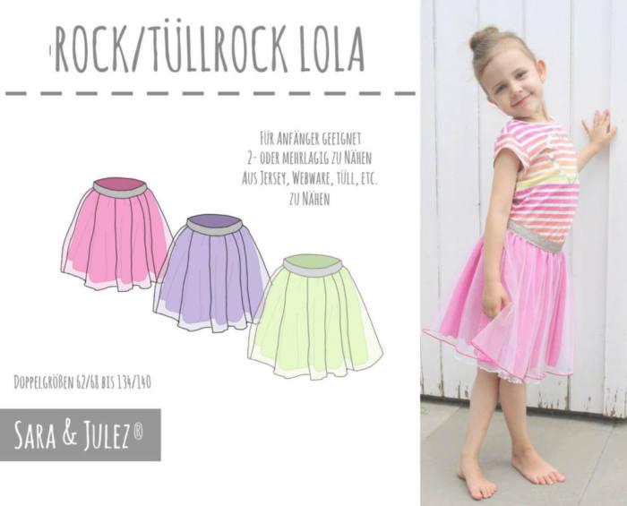 Tuellrock LOLA naehen Sara Julez 5