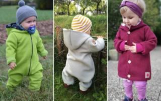 Baby Walk Anzug nähen: Schnittmuster Einteiler PADAN