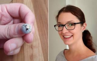 Beton Ohrringe selber machen: Betonschmuck DIY