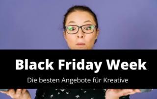 Black Week Angebote: Die besten Spar Angebote für Kreative
