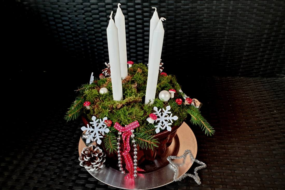 Guglhupf Adventskranz (2)