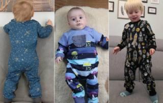 Kuscheligen Baby-Einteiler nähen: Sweat-Anzug GULA