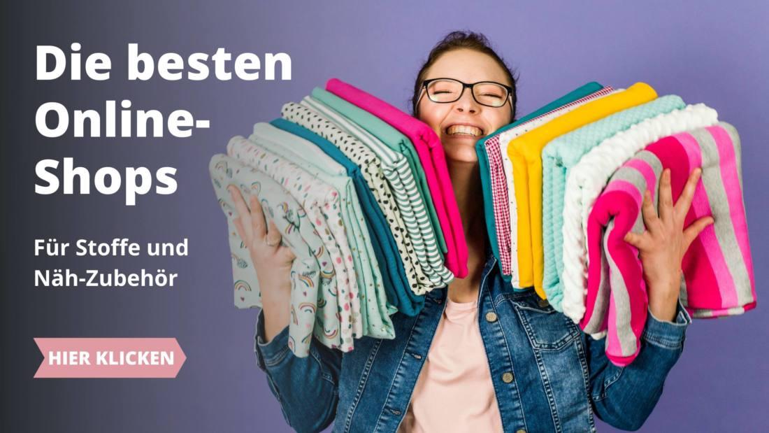 Online-Shops Stoffe Banner