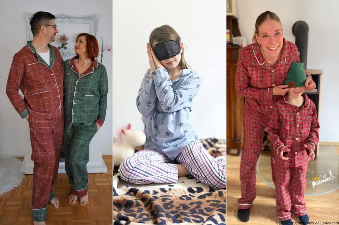 Pyjama-naehen-Schlafanzug-weihnachten