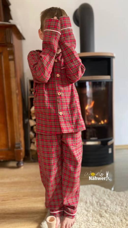 kinder schlafanzug naehen 15