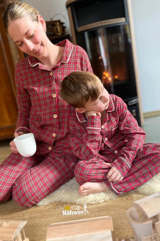 kinder schlafanzug naehen 16