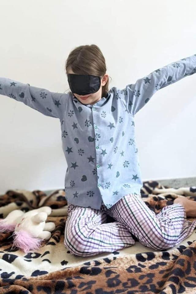 kinder schlafanzug naehen 17