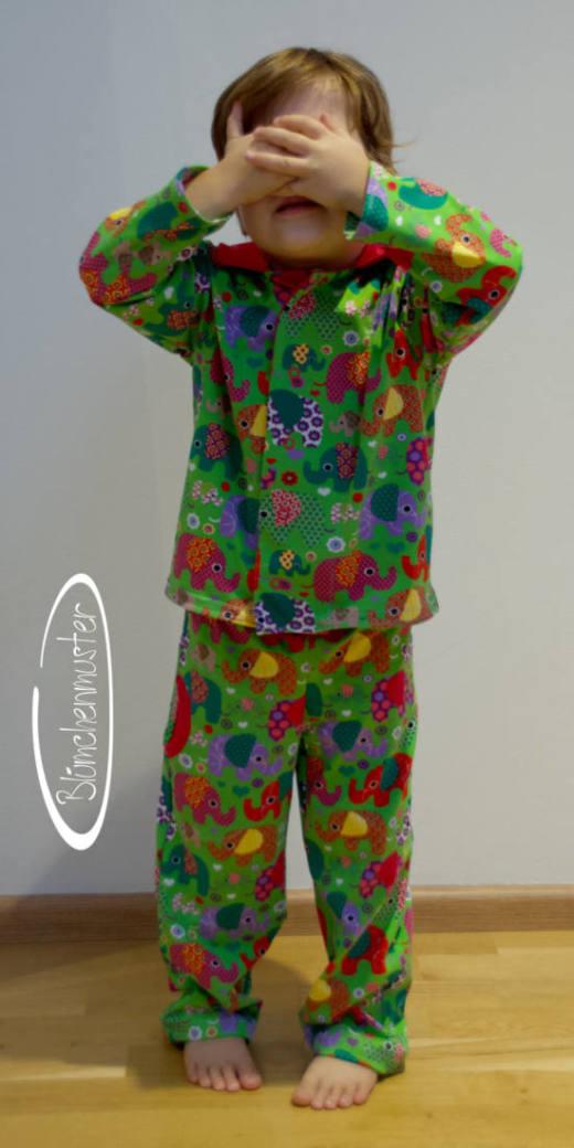 kinder schlafanzug naehen 23
