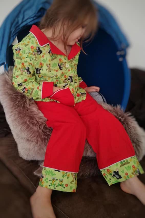 kinder schlafanzug naehen 4