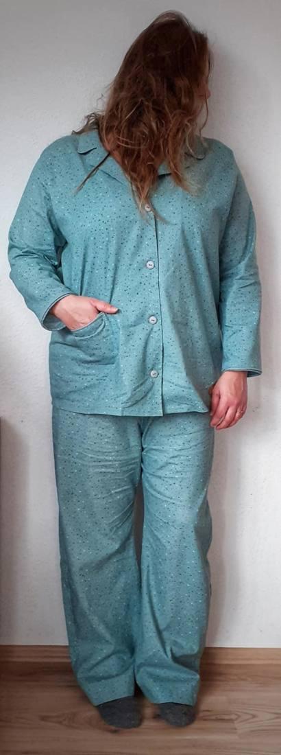 schlafanzug naehen 1