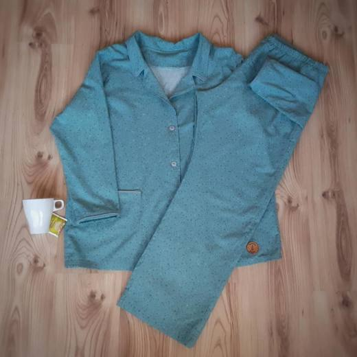 schlafanzug naehen 2