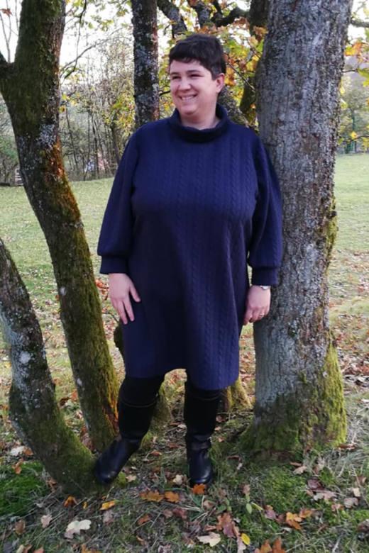 strick kleid naehen 66
