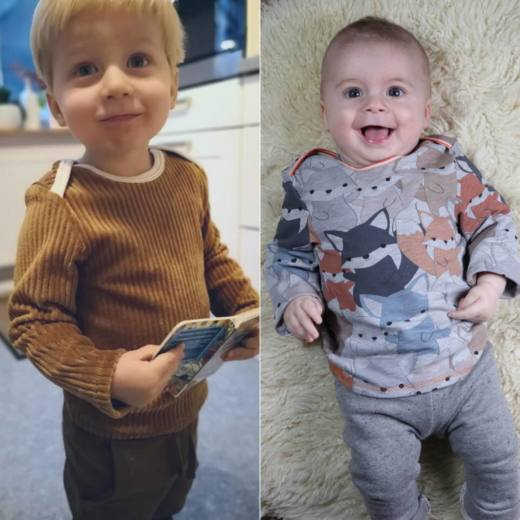 Baby Shirt KERDIL cover quadratisch