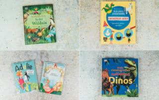 Kinderbücher Rezension: fantastische Tiere, riesige Dinos, eine ganz andere Prinzessin und ein Pinguin in der Tiefkühltruhe