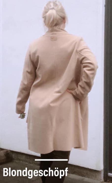 damen mantel naehen DINGIN 3