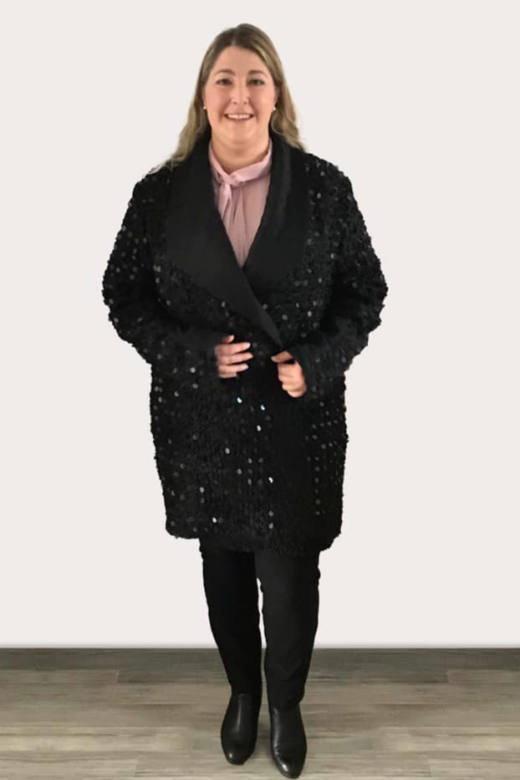 damen mantel naehen DINGIN 5