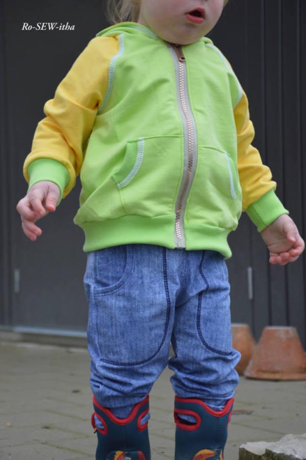 baby jogginghose naehen 1