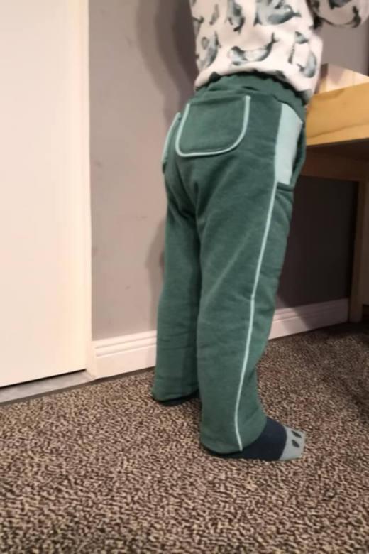 baby jogginghose naehen 10