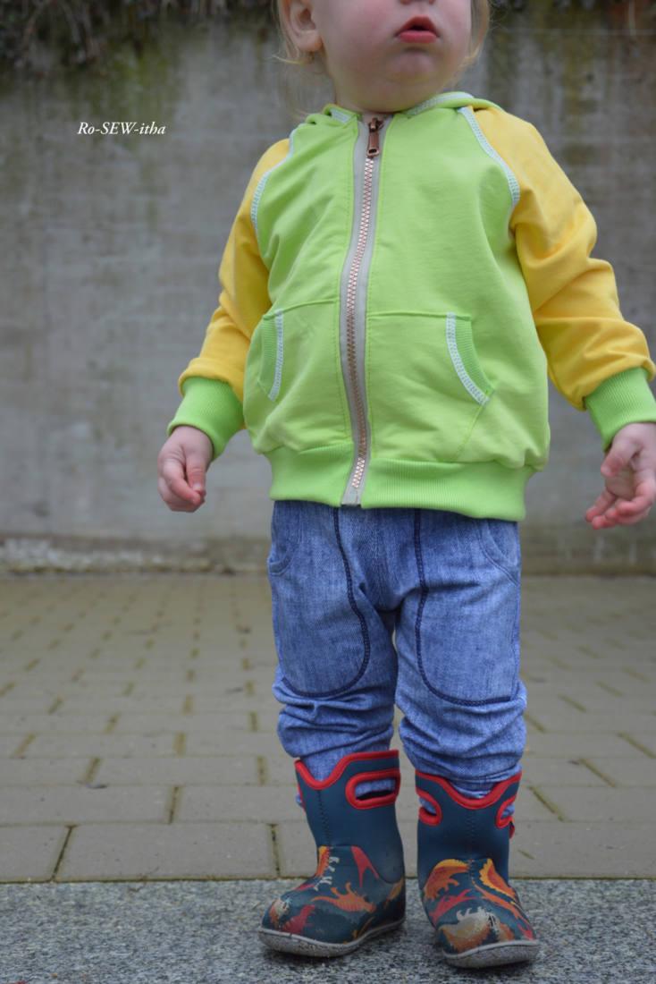 baby jogginghose naehen 2