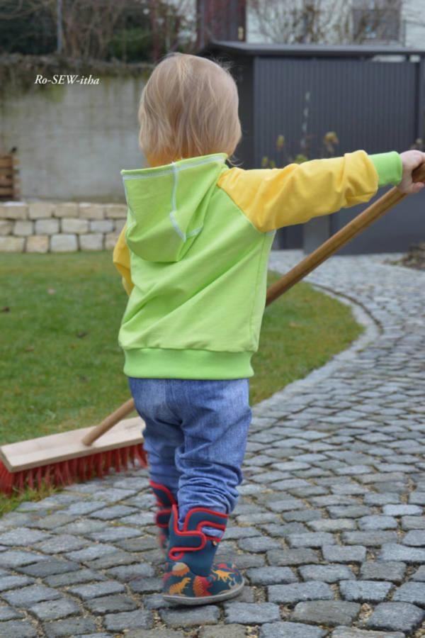 baby jogginghose naehen 3