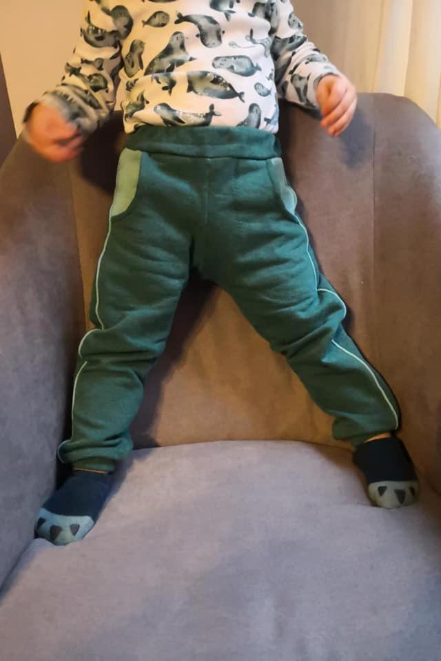 baby jogginghose naehen 7