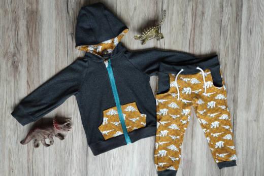 baby jogginghose naehen 8