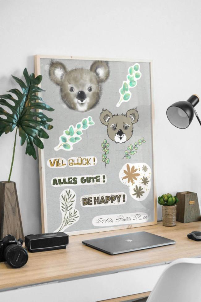 plotter und printable set koala mockup FINAL