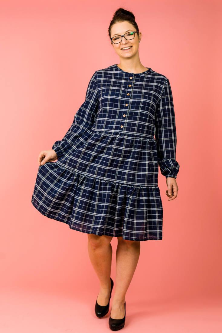 210123 Kleid naehen SIMPUL und Bluse naehen KERAH 001
