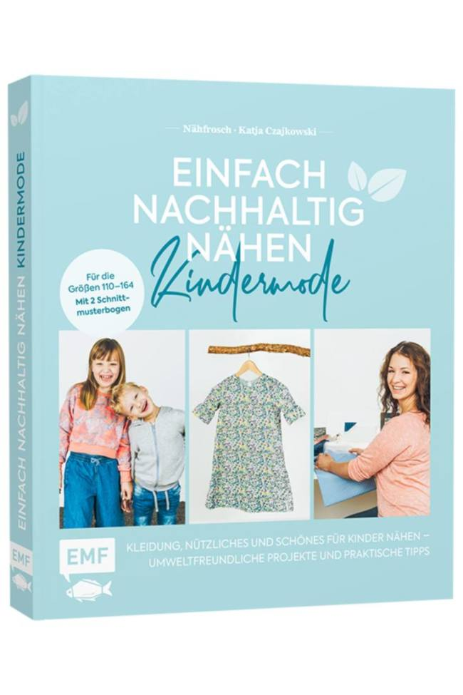 Mock up Cover Buch Kindermode hochkant