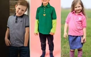 Poloshirt nähen - Klassisches Schnittmuster NAIK Kids