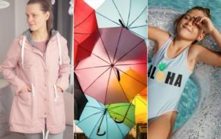 Plotten auf Softshell, Nylon und PUL: So kannst du Badekleidung, Matschhose, Regenschirm oder Jacken verschönern