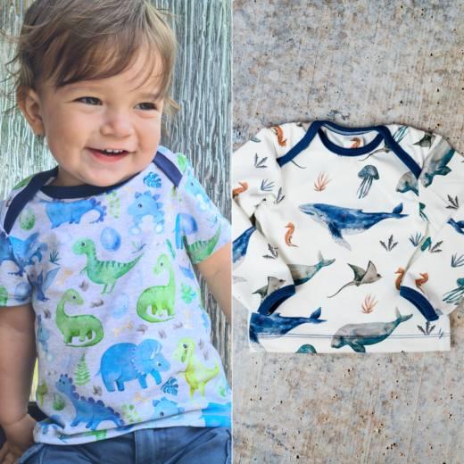 Baby Shirt KERDIL cover quadratisch NEU