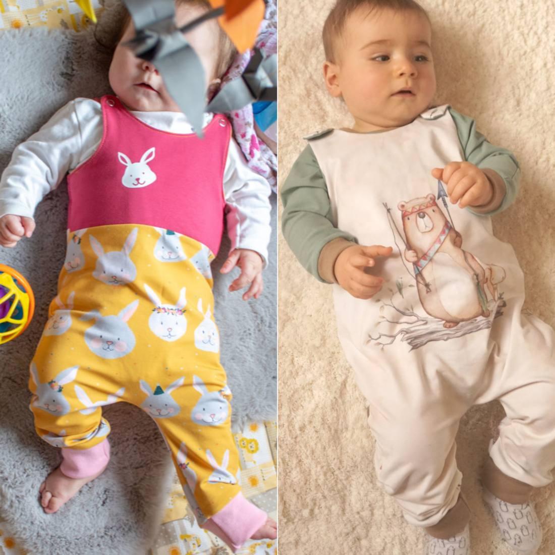 Baby Strampler BUMI quadratisch (2)