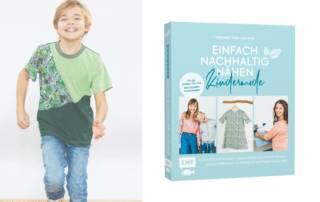 """Kostenloses Schnittmuster aus dem Buch """"Einfach Nachhaltig Nähen - Kindermode"""": Shirt SISA Freebook"""
