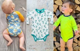 Baby Body nähen - Schnittmuster Body CERIA