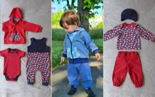 Rund ums Jahr Baby Kleidung nähen - Baby Set BASICS