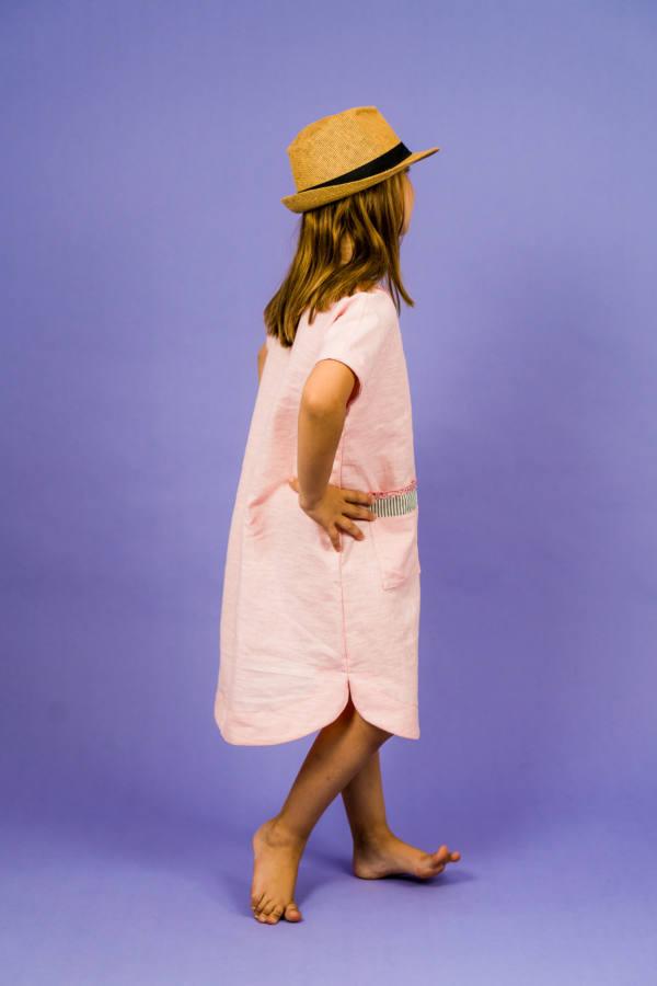 210714 Kuraermeliger Hoodie naehen PINTAR Kleid naehen SINAR 010