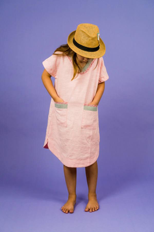 210714 Kuraermeliger Hoodie naehen PINTAR Kleid naehen SINAR 015
