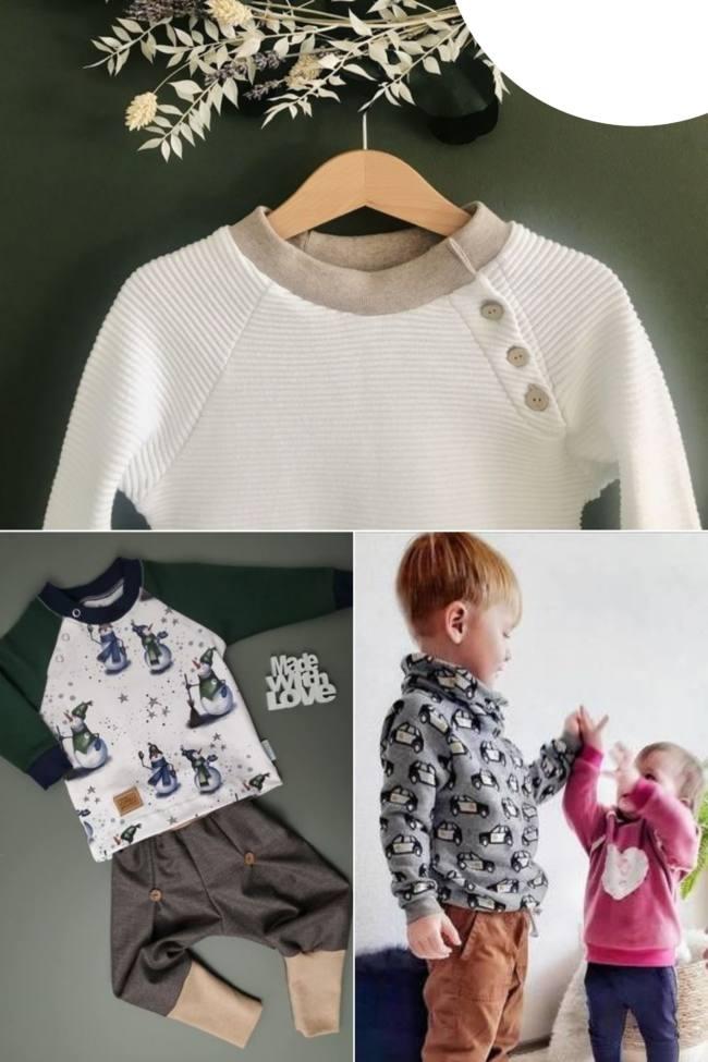 cover raglan button babys
