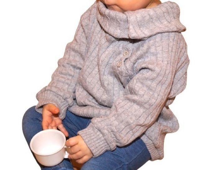 raglan pullover naehen button babys 4