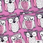 Bio Jersey Eule Parliament – pink