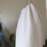 Viskose Strick – weiß