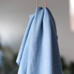 Viskose Strick – hellblau